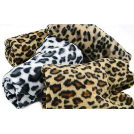 Manta suave Leopard